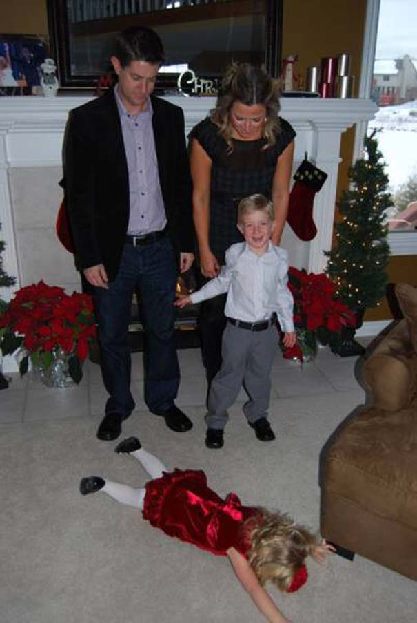 Παιδιά που κατέστρεψαν την οικογενειακή φωτογραφία (8)