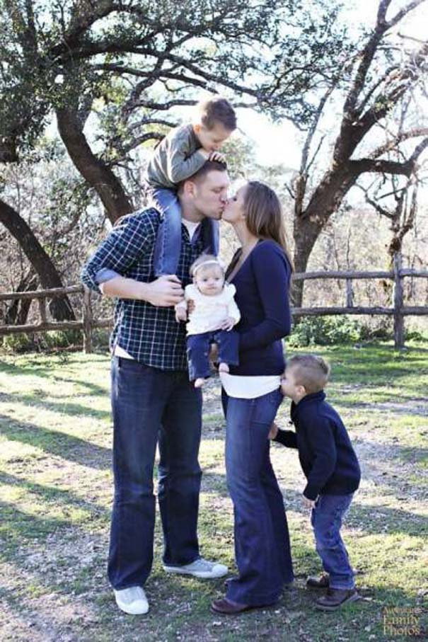 Παιδιά που κατέστρεψαν την οικογενειακή φωτογραφία (11)