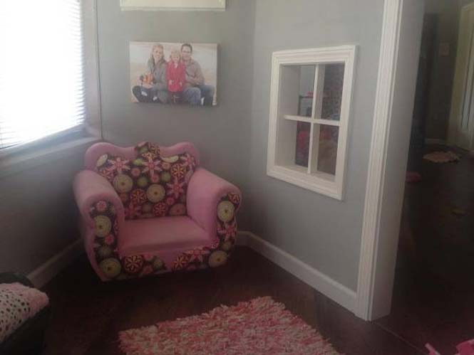 Πατέρας μετέτρεψε ένα ολόκληρο δωμάτιο για τα παιδιά του (18)