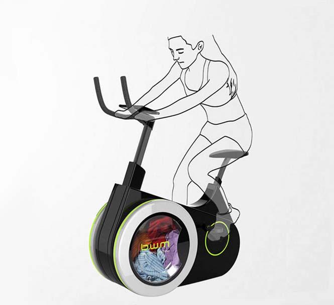 Ποδήλατο γυμναστικής - πλυντήριο (1)