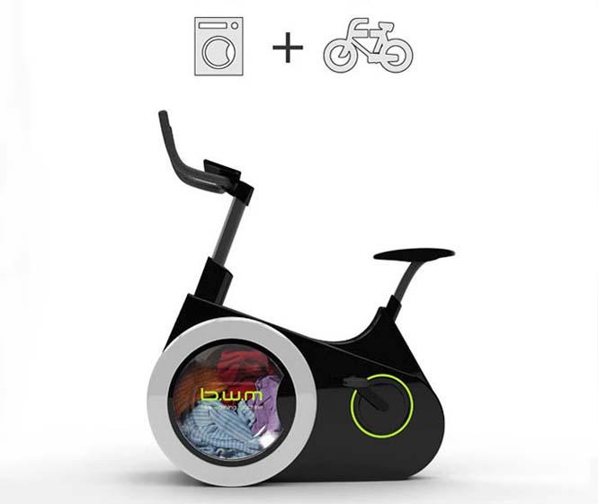 Ποδήλατο γυμναστικής - πλυντήριο (2)