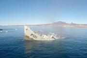 Πολεμικό πλοίο βυθίζεται