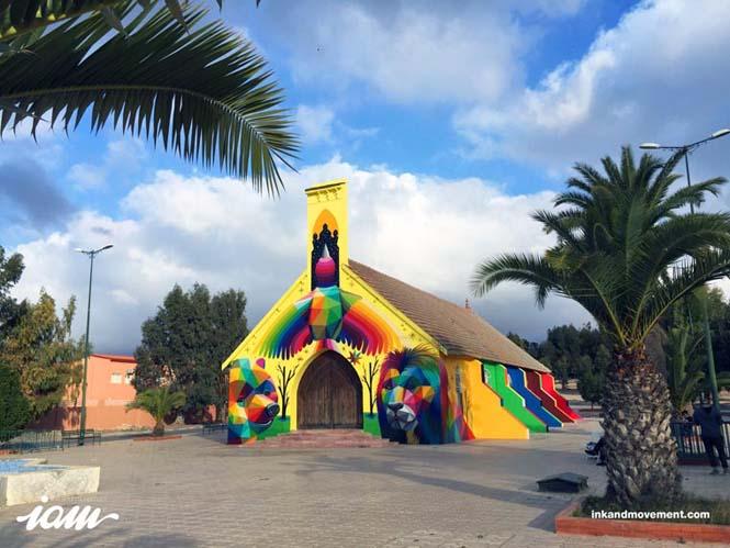 Πολύχρωμη εκκλησία (4)