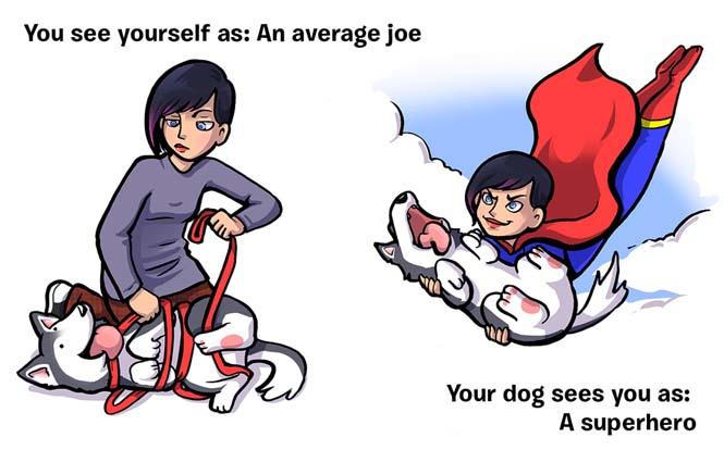 Πως βλέπεις τον εαυτό σου και πως σε βλέπει ο σκύλος σου (5)