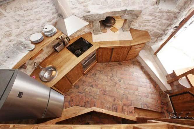 Πύργος 250 ετών στην Αδριατική μετατράπηκε σε σπίτι (8)