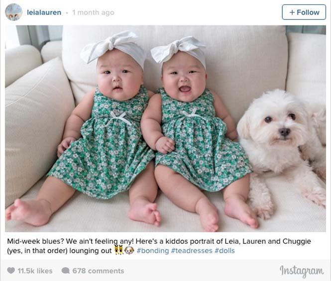 Τα χαριτωμένα δίδυμα που τρελαίνουν το Instagram (2)
