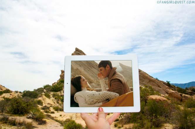 Ταξιδεύουν βγάζοντας φωτογραφίες σε τοποθεσίες διάσημων ταινιών (5)