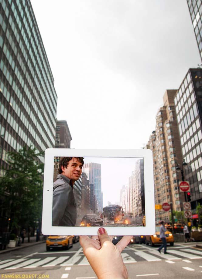 Ταξιδεύουν βγάζοντας φωτογραφίες σε τοποθεσίες διάσημων ταινιών (9)