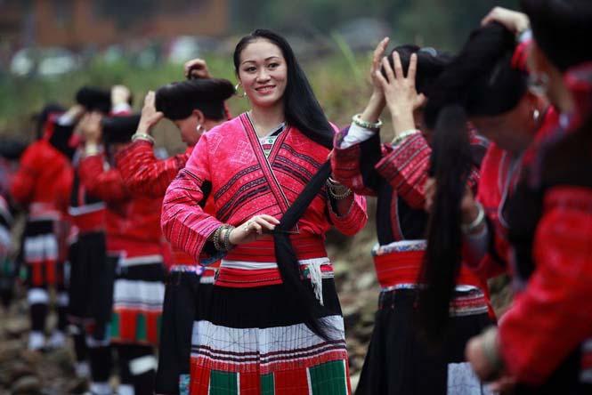 Η φυλή των «Ραπουνζέλ» στην Κίνα (1)