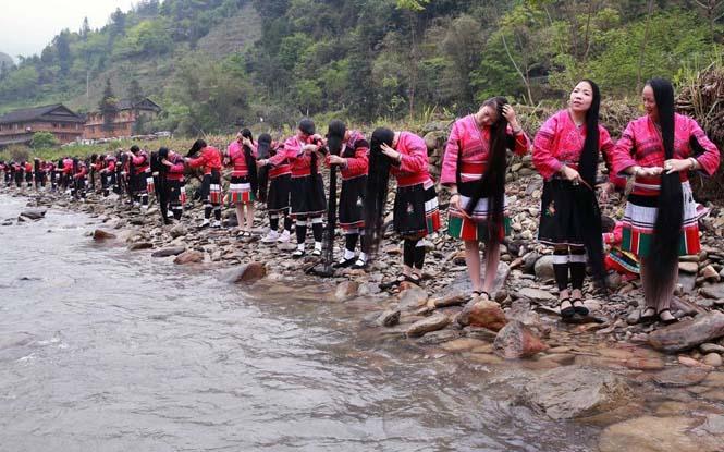 Η φυλή των «Ραπουνζέλ» στην Κίνα (2)