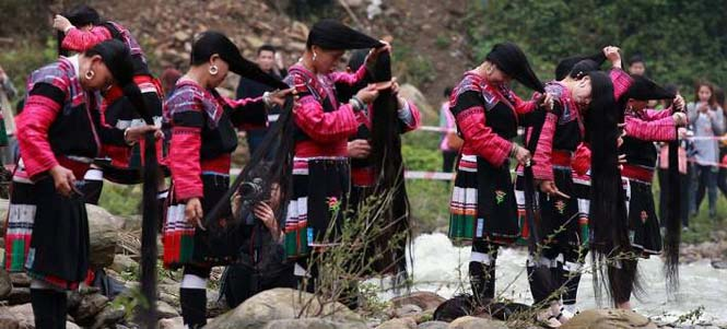 Η φυλή των «Ραπουνζέλ» στην Κίνα (3)