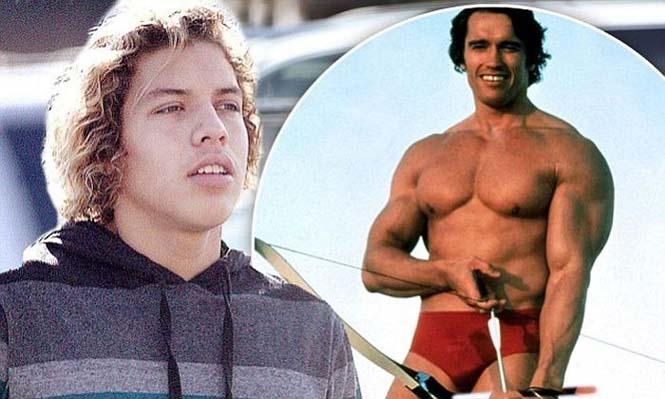 Joseph Baena: Ο γιος του Arnold Schwarzenegger (10)