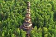 Κατασκεύασε μόνος του μια καλύβα ύψους 55 μέτρων στην Αλάσκα (1)