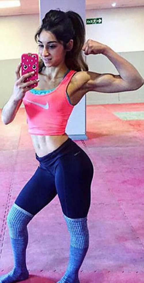 Κορίτσι με ανορεξία έγινε bodybuilder (18)