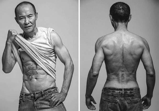 Μπορείτε να μαντέψετε την ηλικία αυτού του άνδρα κοιτάζοντας το σώμα του; (3)