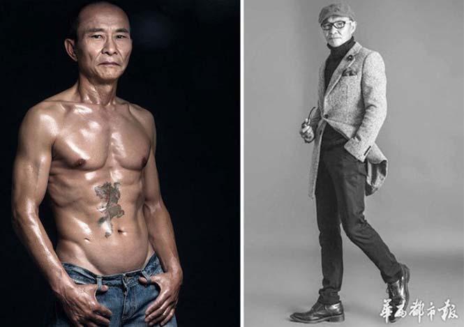 Μπορείτε να μαντέψετε την ηλικία αυτού του άνδρα κοιτάζοντας το σώμα του; (4)
