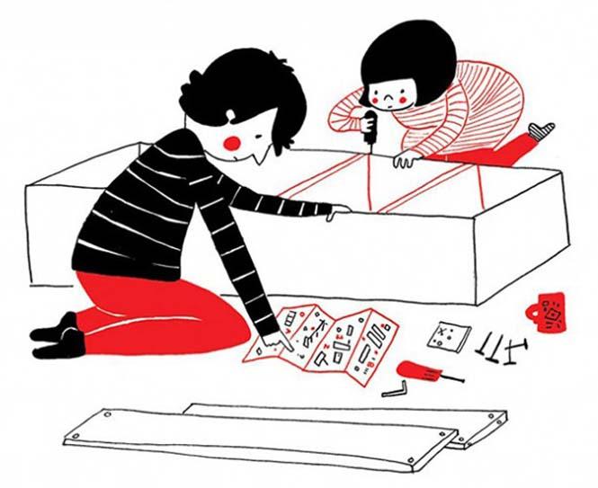 Μικρά καθημερινά πράγματα στα οποία κρύβεται η ευτυχία ενός ζευγαριού (2)