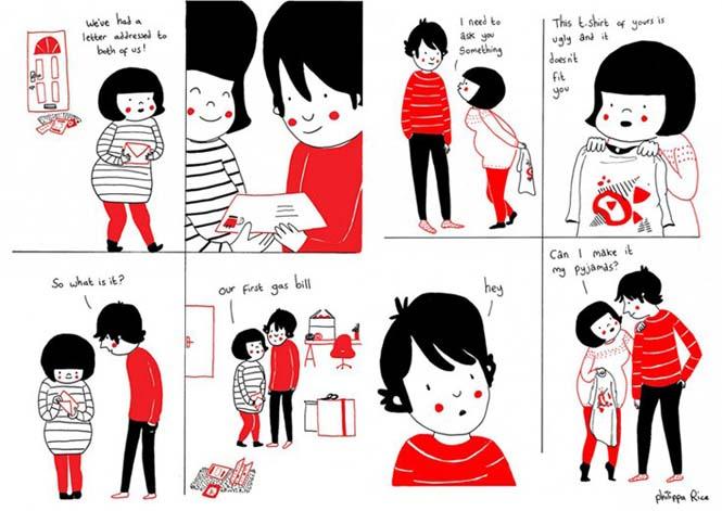 Μικρά καθημερινά πράγματα στα οποία κρύβεται η ευτυχία ενός ζευγαριού (3)
