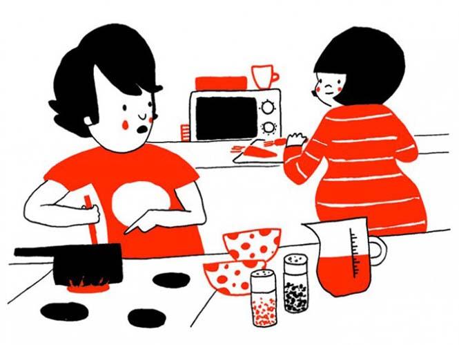 Μικρά καθημερινά πράγματα στα οποία κρύβεται η ευτυχία ενός ζευγαριού (6)