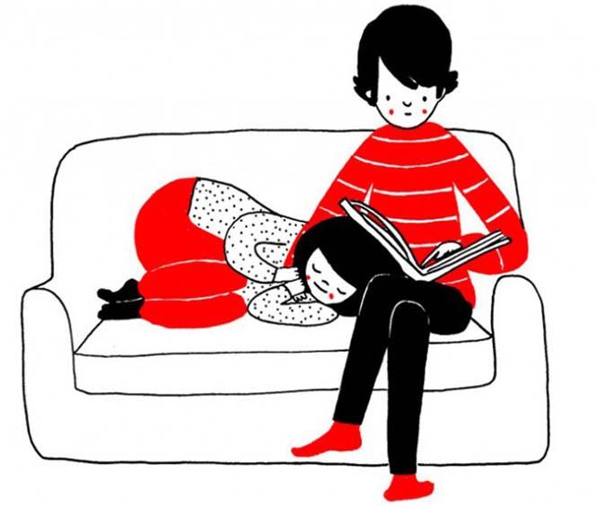 Μικρά καθημερινά πράγματα στα οποία κρύβεται η ευτυχία ενός ζευγαριού (7)
