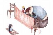 Η μοναδική σχέση πατέρα και κόρης μέσα από παραμυθένια σκίτσα (5)