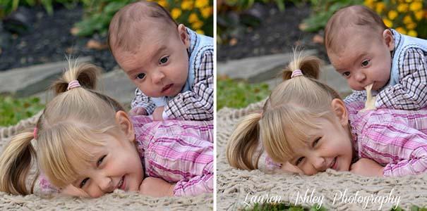 Μωρά που κατέστρεψαν την φωτογράφηση τους με ξεκαρδιστικό τρόπο (9)