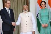 Ο πρίγκιπας William θα θυμάται για καιρό την χειραψία με τον πρωθυπουργό της Ινδίας (1)