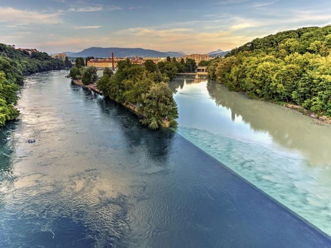 Εκεί που «συγκρούονται» δυο ποταμοί | Φωτογραφία της ημέρας