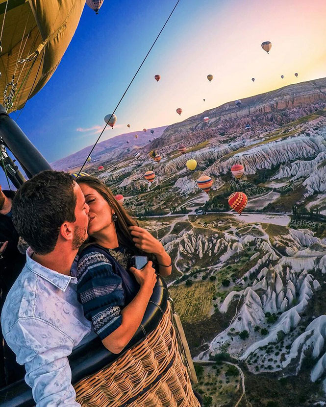 Πετώντας με αερόστατο πάνω από την Καππαδοκία   Φωτογραφία της ημέρας