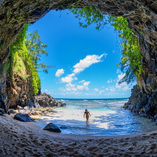 Μυστική σπηλιά στην Χαβάη | Φωτογραφία της ημέρας