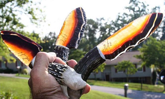 Μαχαίρια από ηφαιστειακό γυαλί | Φωτογραφία της ημέρας