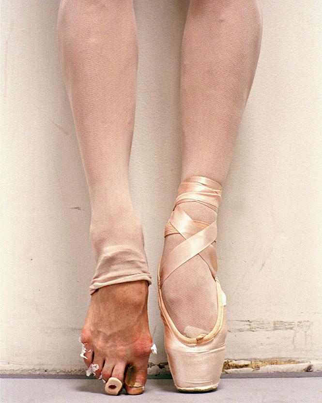 Τα πόδια μιας μπαλαρίνας | Φωτογραφία της ημέρας