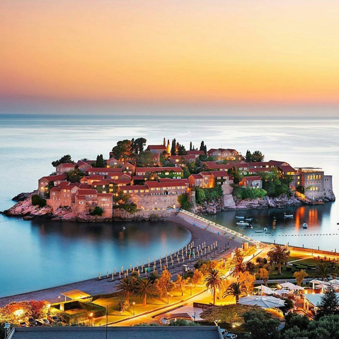 Sveti Stefan, Μαυροβούνιο | Φωτογραφία της ημέρας