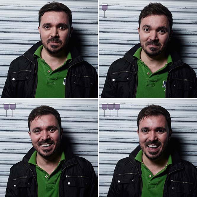 Πορτραίτα ανθρώπων μετά από 1, 2 και 3 ποτήρια κρασιού (3)