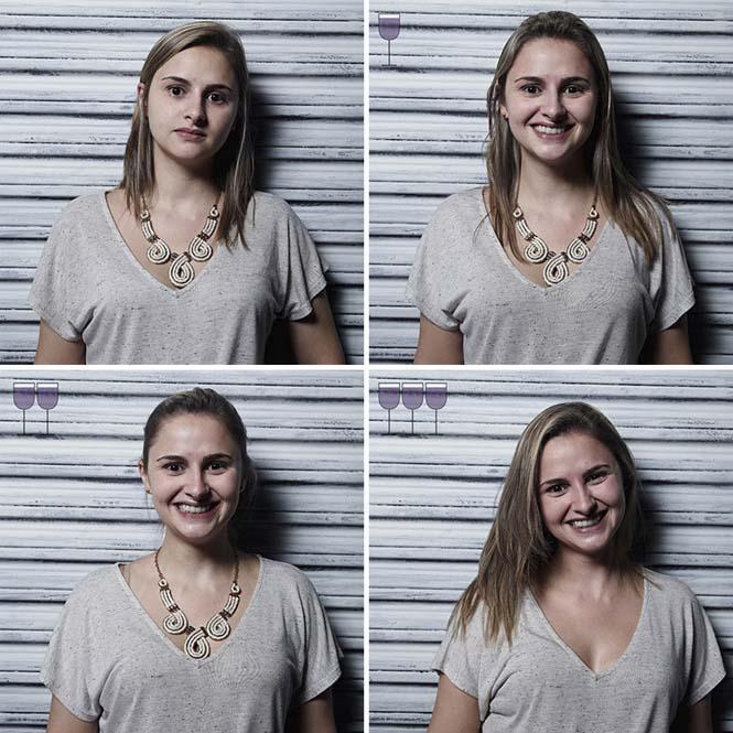 Πορτραίτα ανθρώπων μετά από 1, 2 και 3 ποτήρια κρασιού (17)