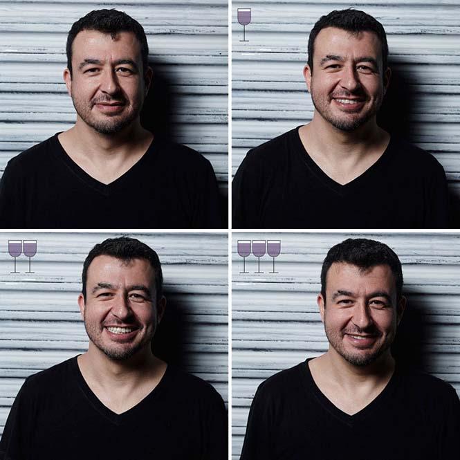 Πορτραίτα ανθρώπων μετά από 1, 2 και 3 ποτήρια κρασιού (24)