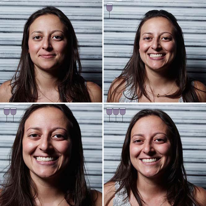 Πορτραίτα ανθρώπων μετά από 1, 2 και 3 ποτήρια κρασιού (29)