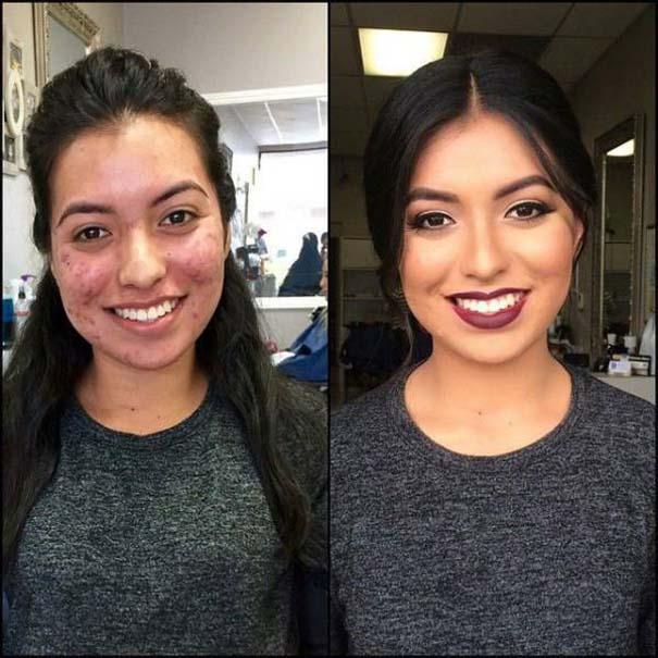 Πως το μακιγιάζ μπορεί να «εξαφανίσει» τα δερματικά προβλήματα των γυναικών (11)