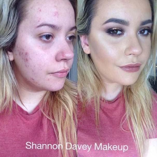 Πως το μακιγιάζ μπορεί να «εξαφανίσει» τα δερματικά προβλήματα των γυναικών (15)