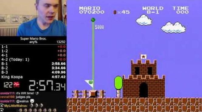 Τερμάτισε το Super Mario Bros σε μόλις 5 λεπτά