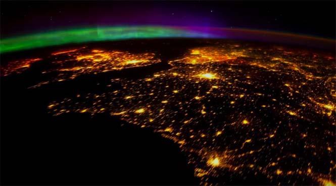 Βόρειο Σέλας από το διάστημα (3)