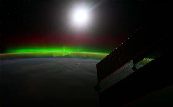 Βόρειο Σέλας από το διάστημα (4)