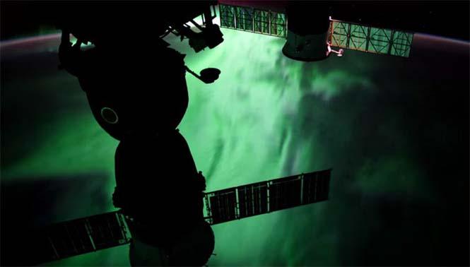 Βόρειο Σέλας από το διάστημα (5)