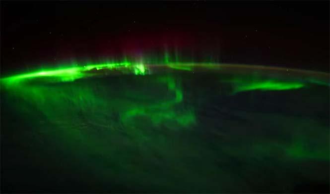 Βόρειο Σέλας από το διάστημα (7)