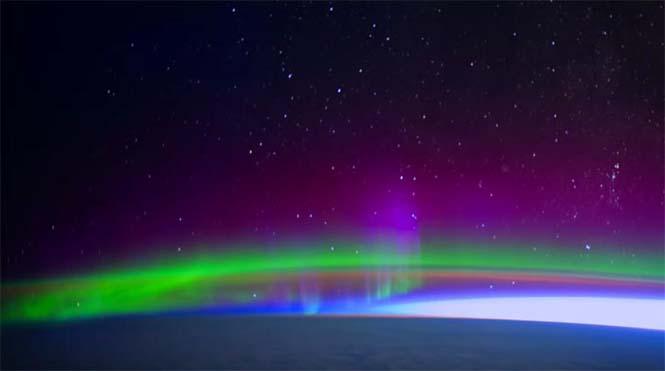 Βόρειο Σέλας από το διάστημα (8)