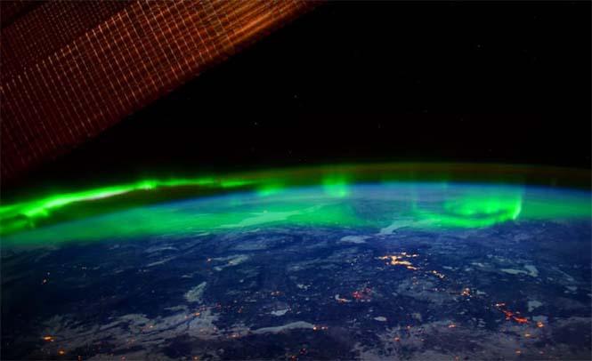 Βόρειο Σέλας από το διάστημα (10)