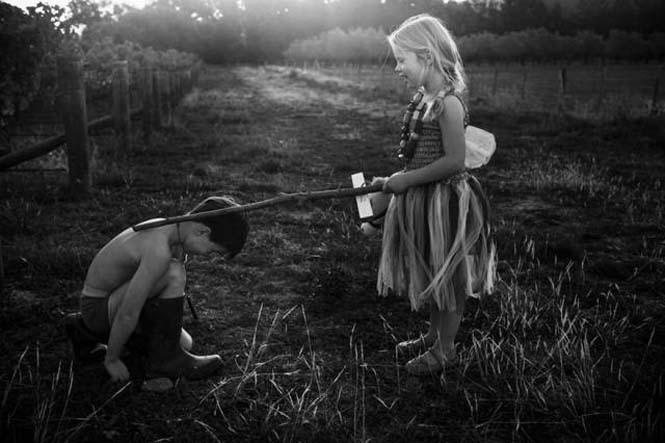 Μητέρα φωτογραφίζει την χωρίς τεχνολογία καθημερινότητα των παιδιών της (17)