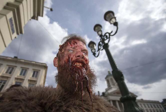 Ζόμπι στους δρόμους των Βρυξελλών (3)