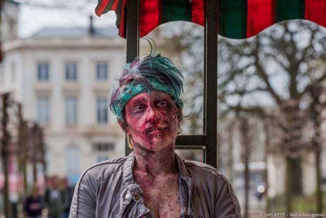 Ζόμπι στους δρόμους των Βρυξελλών (12)
