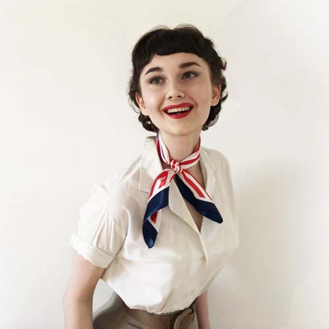 17χρονη έχει ταλέντο στις vintage εμφανίσεις (4)